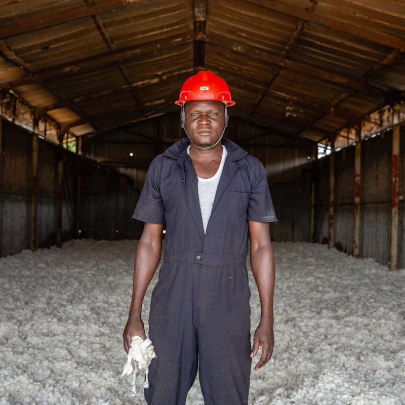Baumwolle made in Uganda -