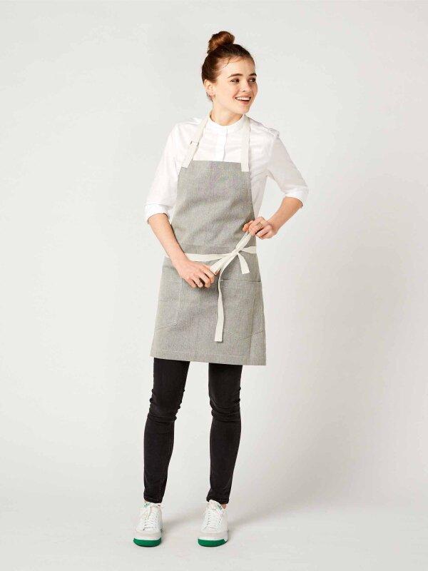 short bib apron, SALZ&PFEFFER - limited special edition -