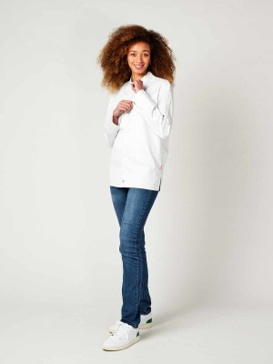 CO Chefs jacket long sleeve, RAY 2.0 white M