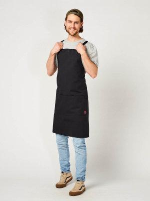 CO back binding bib apron, WALU