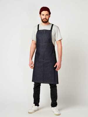 denim bib apron, THE BIG 1
