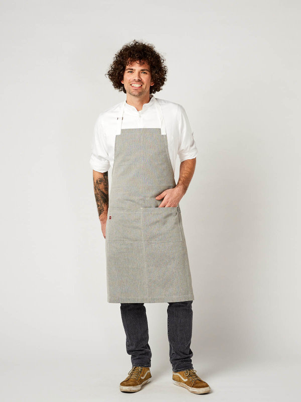 long bib apron, SALZ&PFEFFER