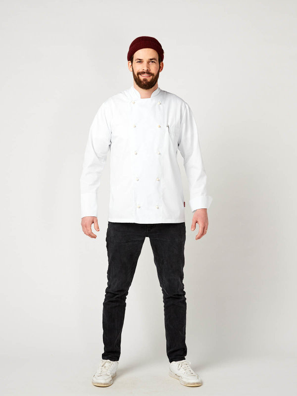 long sleeve chefs jacket, RUBANO