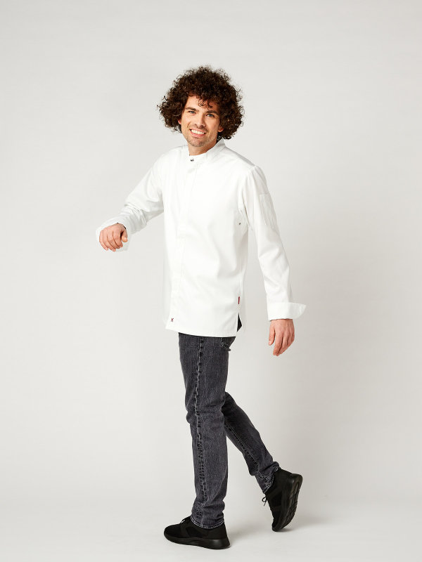 CO Chefs jacket long sleeve RAY, white S