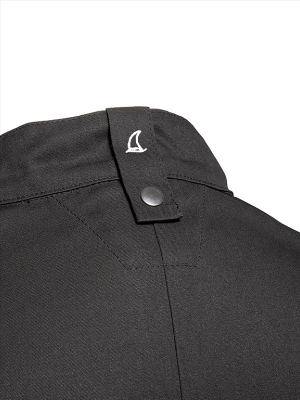 CO Chefs jacket long sleeve RAY 2.0, anthracite XL