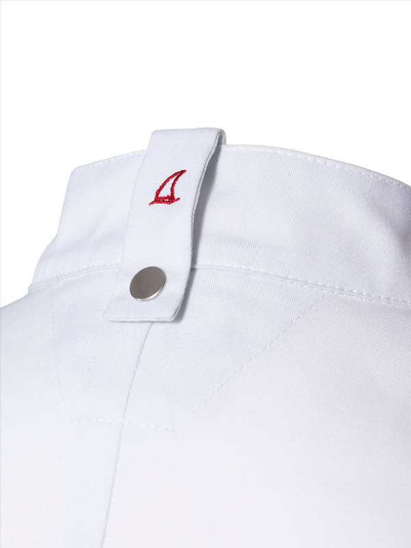 CO short sleeve chefs jacket OYSTER, white 4XL