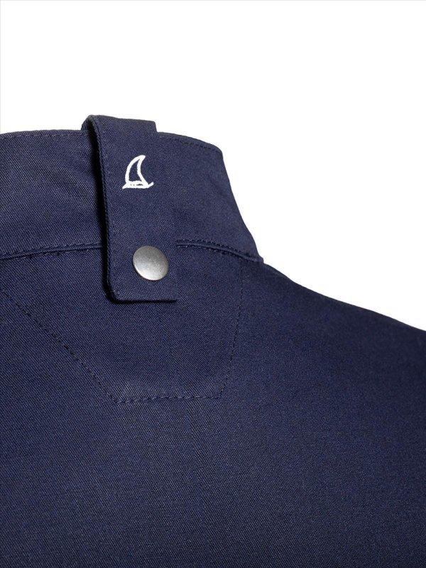 CO short sleeve chefs jacket OYSTER, navy XL