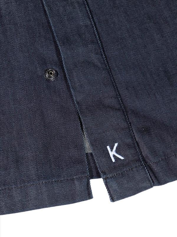Denim Kochjacke langarm, MILANO denim blue XL
