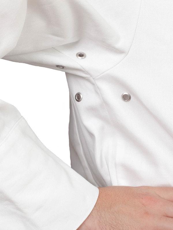 Kochjacke langarm, RIVOLI natural XL