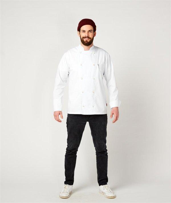 Kochjacke langarm, RUBANO white S