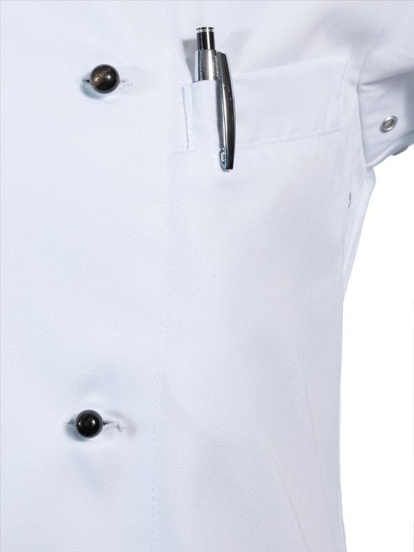 Kochjacke langarm, RUBANO white L