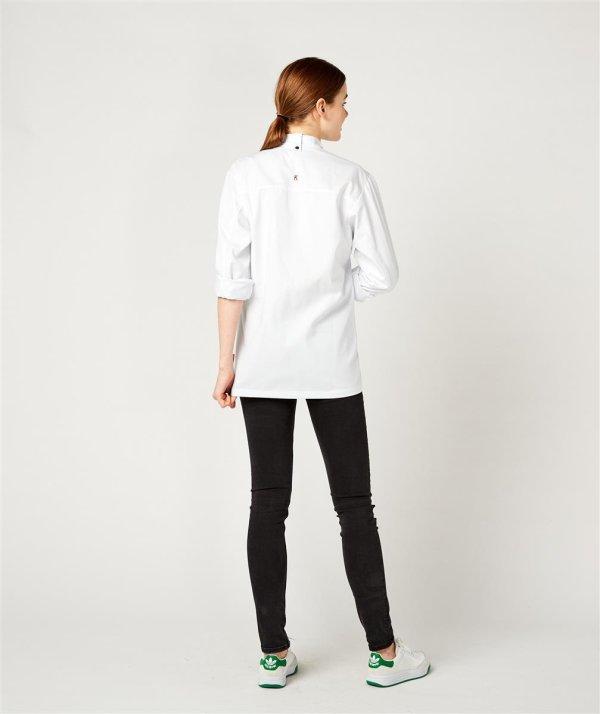 Kochjacke langarm, RUBANO white XL