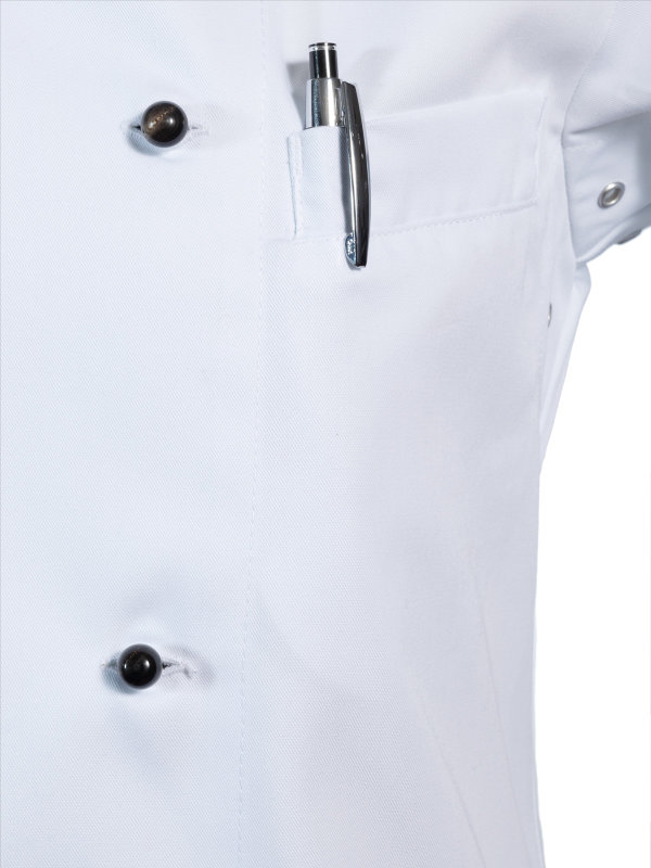 Kochjacke langarm, RUBANO white 2XL