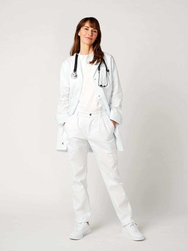 Kittel KAZO, Unisex white M