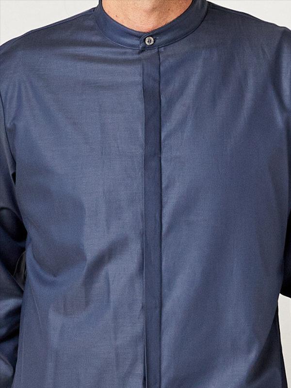 Servicehemd, BEVER greyblue XS
