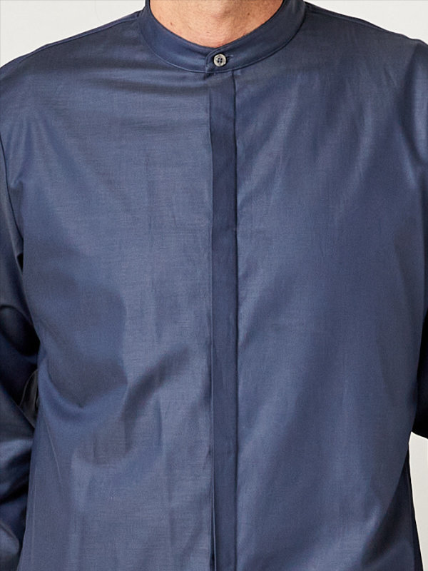 Servicehemd, BEVER greyblue XL