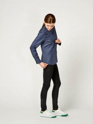 blouse MALOJA, greyblue M