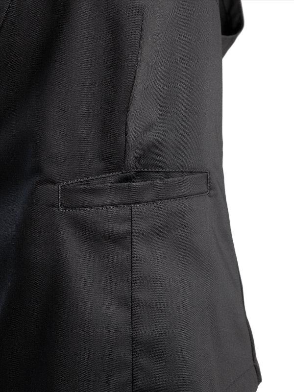 womens waistcoat, GERA anthracite 2XL