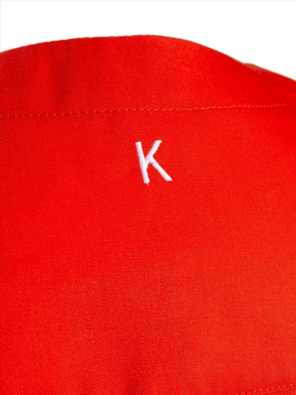 CO Kasack Unisex, KALUGA red 4XL