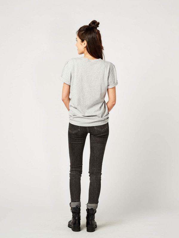 T-Shirt Unisex PORTO, grey melange XL