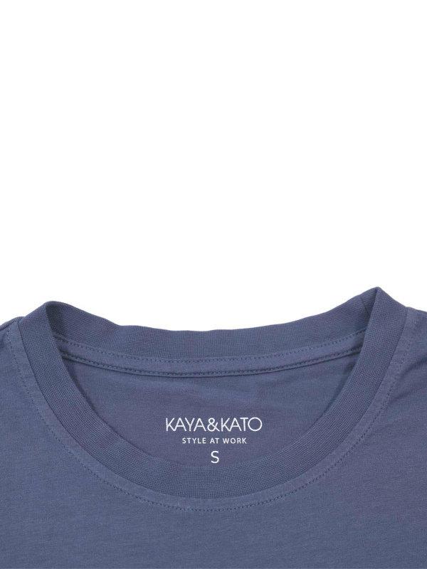 T-Shirt Unisex, PORTO greyblue S