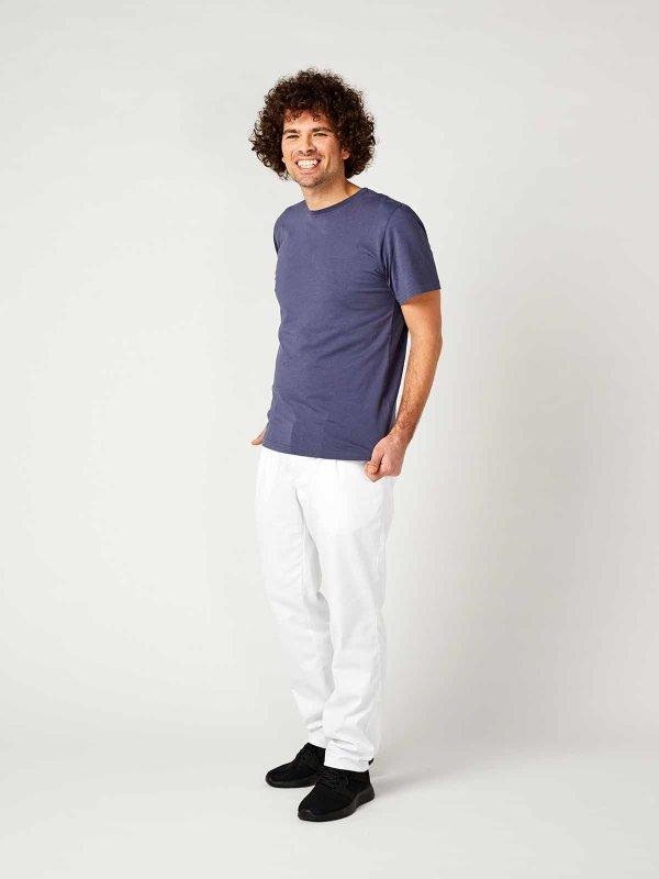 T-Shirt Unisex, PORTO greyblue M