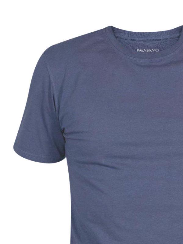 T-Shirt Unisex, PORTO greyblue L