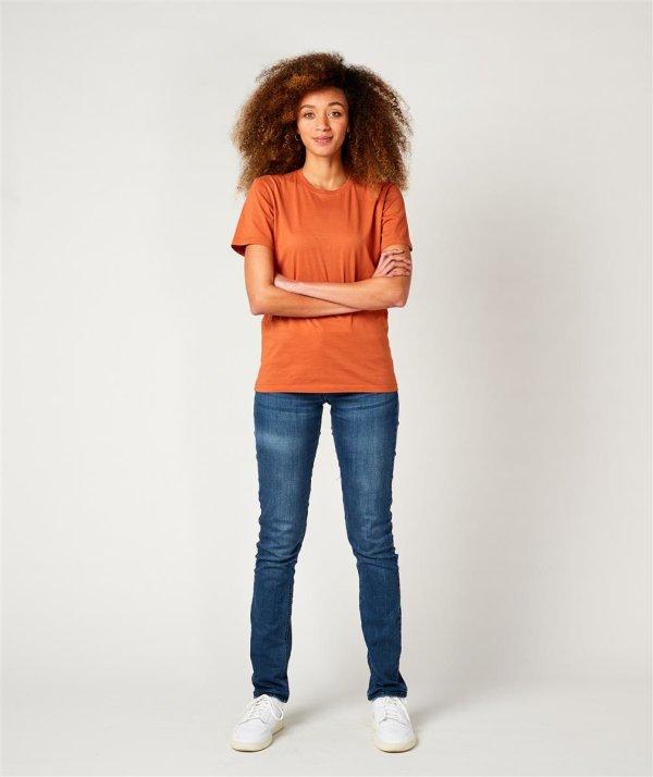 T-Shirt Unisex, PORTO rustred XS