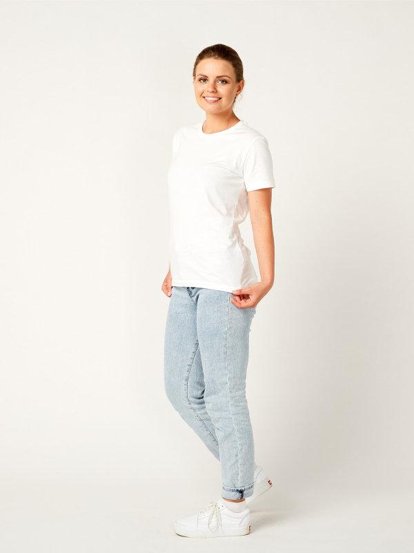 T-Shirt Damen, PISA white S