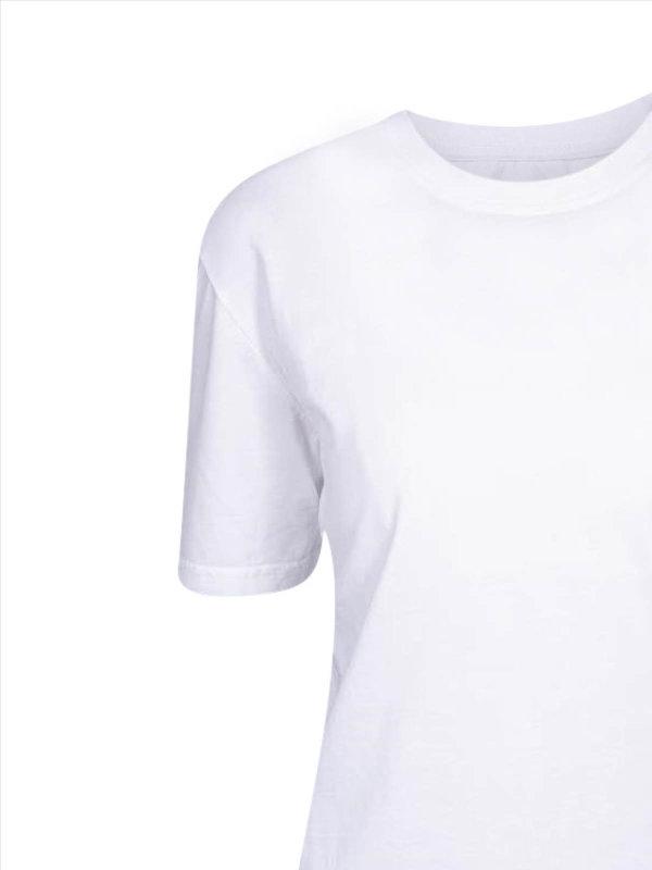 T-Shirt Damen, PISA white M