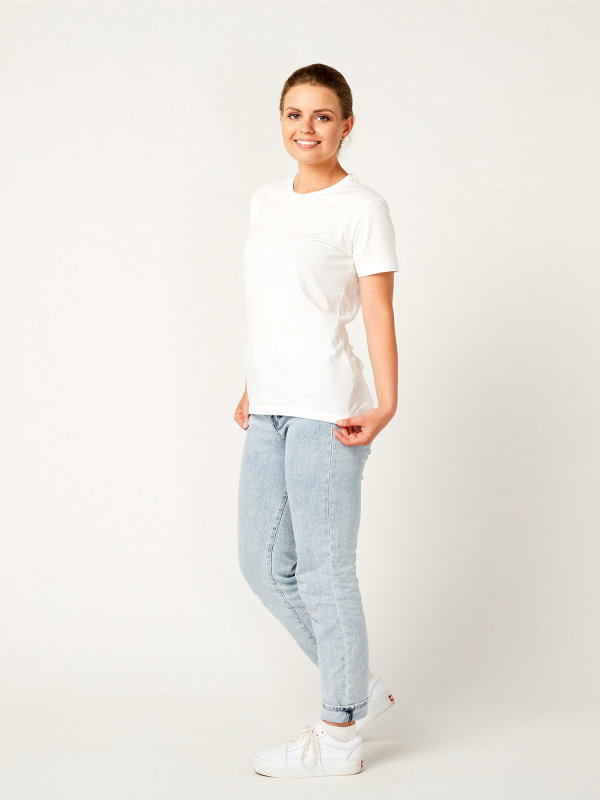 T-Shirt Damen, PISA white 2XL