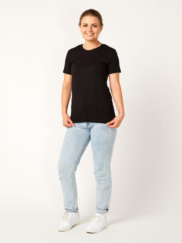 T-shirt ladies, PISA black M