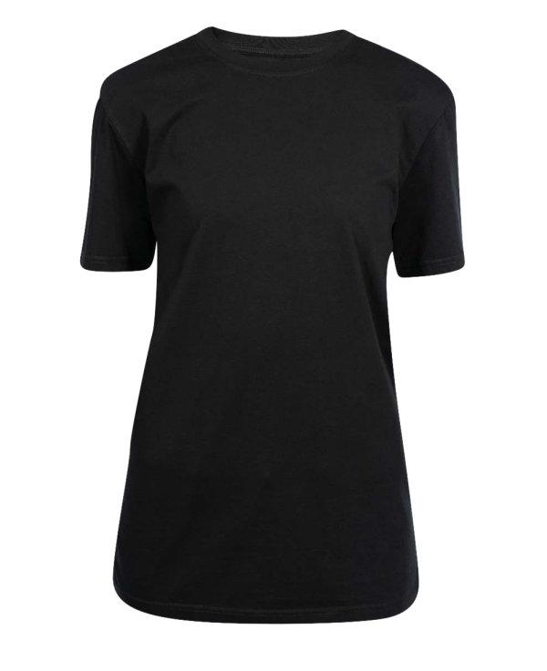 T-Shirt Damen, PISA black L
