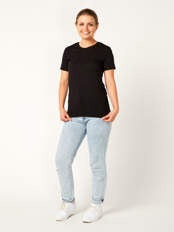 T-shirt ladies, PISA black XL