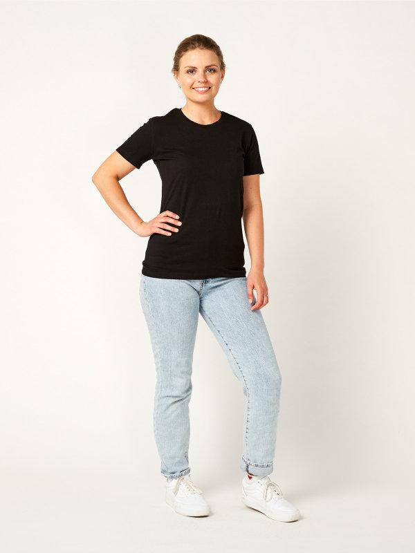 T-Shirt Damen, PISA black 2XL