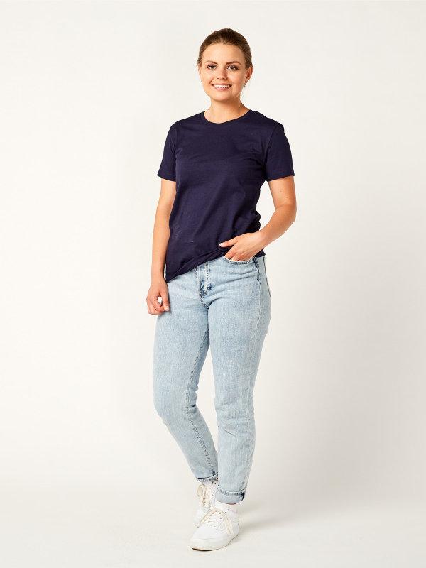 T-Shirt Damen, PISA navy XL