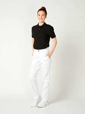 work trousers unisex, MUNICH, white M