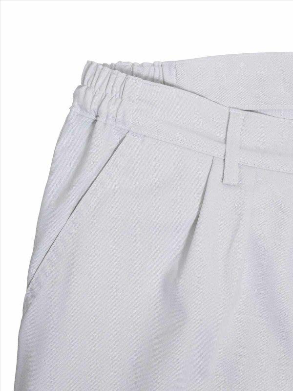 work trousers unisex, MUNICH, white L