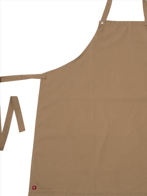 CO long bib apron, OSCAR, ginger