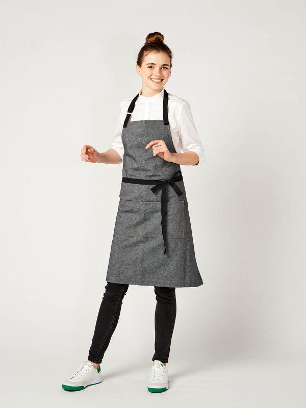 Geschenk-Set Kochmesser Premier Plus & Latzschürze