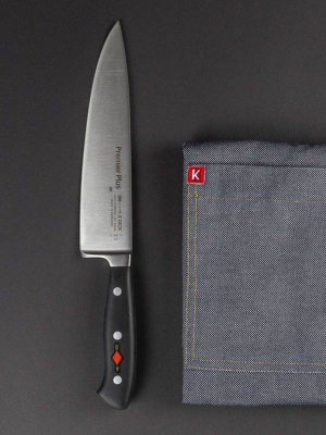 gift set chefs knife Premier Plus & bib apron