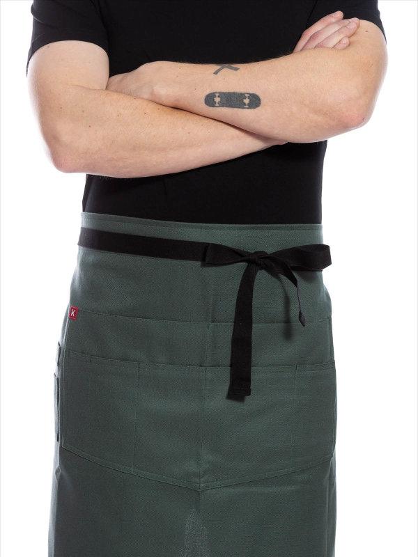Schürze, THE GARDENER, olivgrün