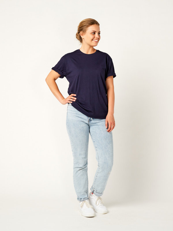 T-Shirt Unisex, PORTO 2.0 dark blue L