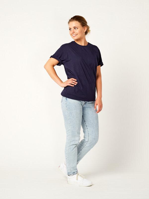 T-Shirt Unisex, PORTO 2.0 dark blue XL