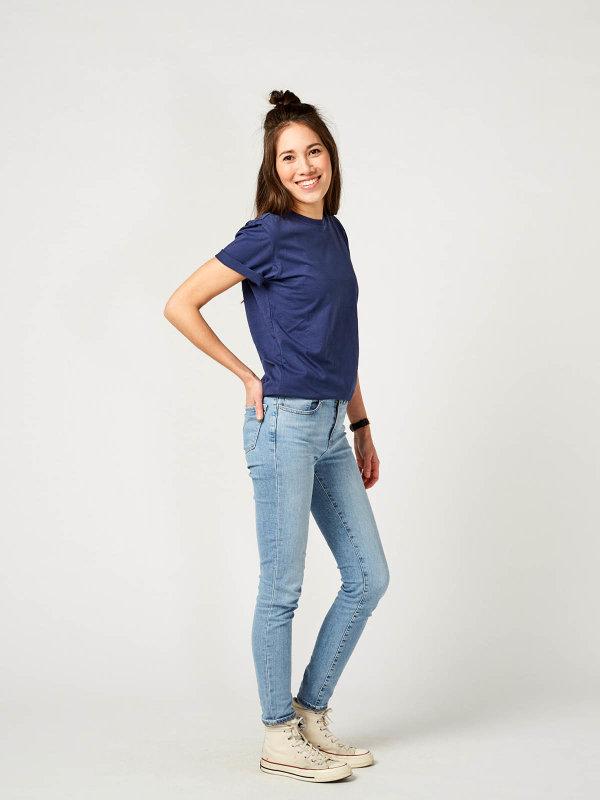 T-Shirt Unisex PORTO, navy XS