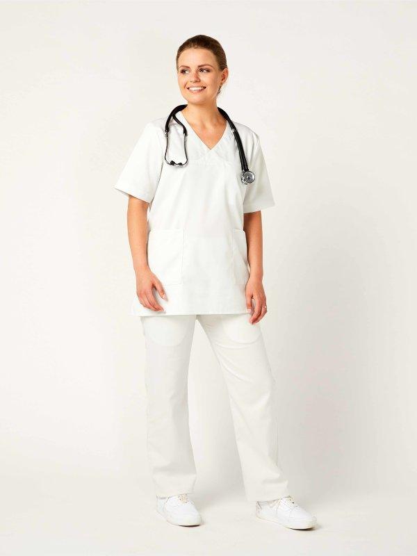 Unisex tunic, CALGARY White M