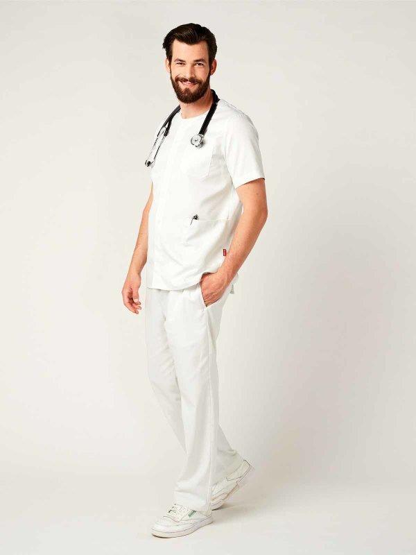 Unisex tunic, MINSK White M
